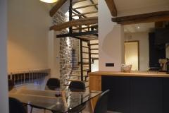 Salle à manger - Escalier