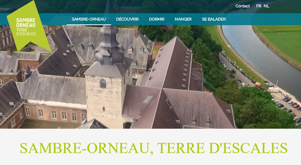 Site de la maison du tourisme Sambre-orneau